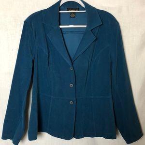 Elementz Teal Blue Blazer Size XL
